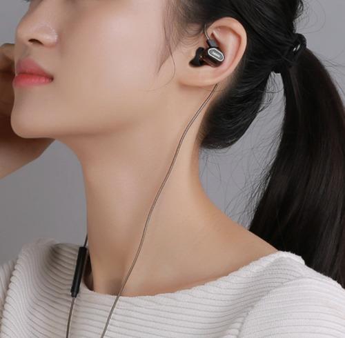 auricular in-ear remax con doble bobina alta definición