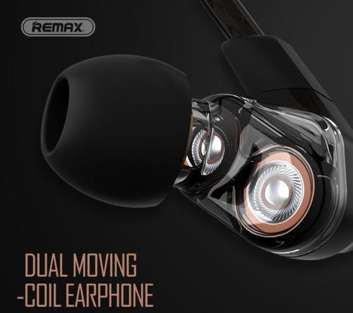auricular in-ear remax con doble bobina hi fi