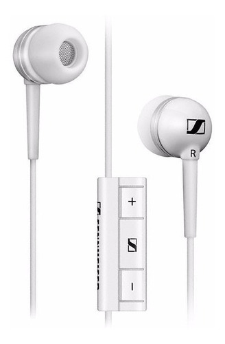 auricular in ear sennheiser mm 30g white para android.in ear