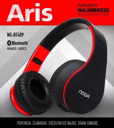 auricular inalambrico bluetooth manos libres mp3 noga bt409