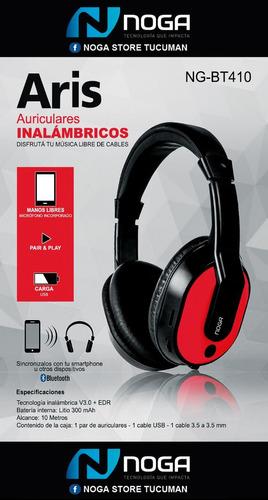 auricular inalambrico bluetooth noga bt410 - factura a / b