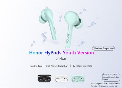 auricular inalámbrico honor am-h1c flypods youth version