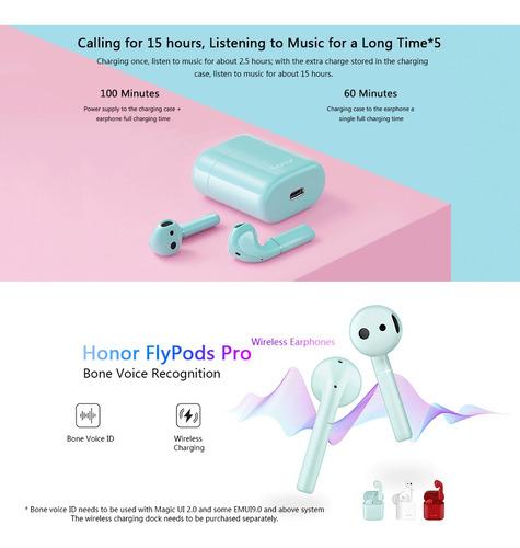 auricular inalámbrico honor cm-h2 flypods pro bone voice id