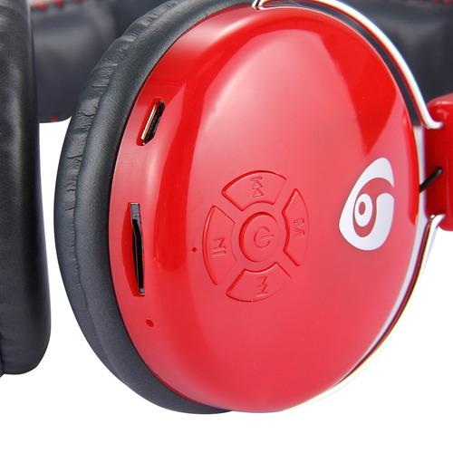 auricular inalambrico ovleng v8-2 bluetooth estereo rojo