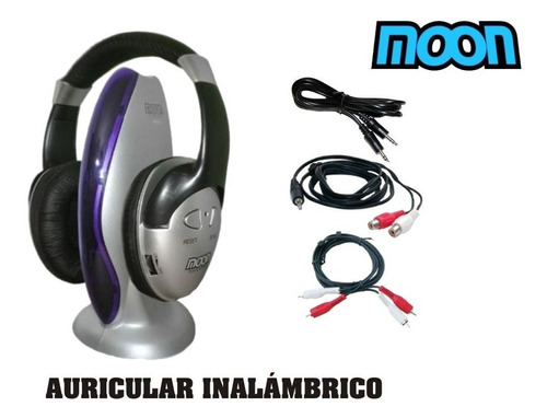 auricular inalambrico para tv y pc  moon ma101 - alma music