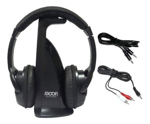 auricular inalambrico profesional fm ideal tv pc moon ma102