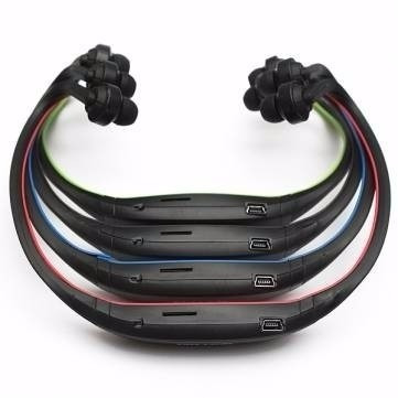 auricular inalambrico sport mp3 micro sd hasta 32gb radio fm
