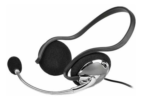 auricular jazz detras de la cabeza c/microfono flexible