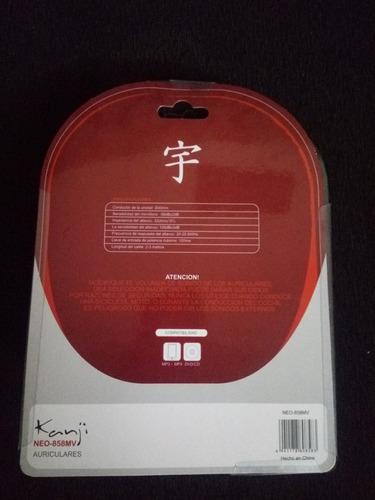 auricular kanji 858 mv
