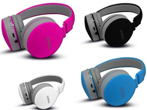 auricular m libres soul bluetooth inalambrico microsd mp3 fm