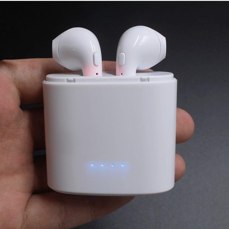 dafc4b9aaf1 auricular manos libres bluetooth inalambrico iphone 7 8 x s8. Cargando zoom.