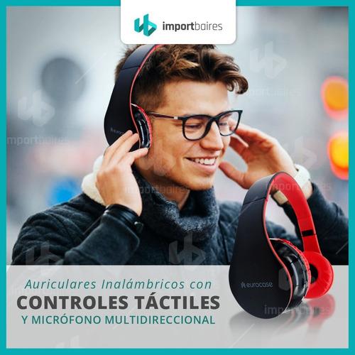 auricular manos libres bluetooth vincha plegable micrófono