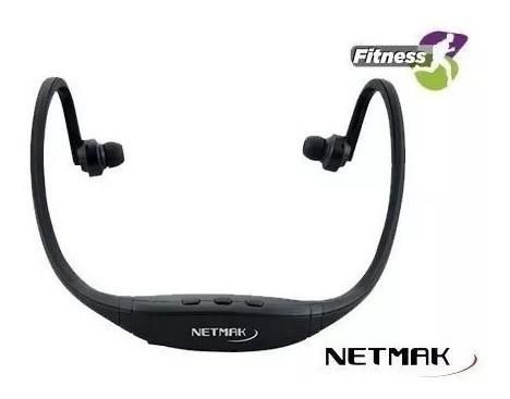 auricular netmak in ear bluetooth nm-b32 nuca fitness manos