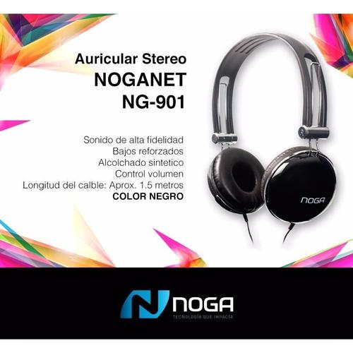 auricular noga ng-901 con control de volumen en el cable