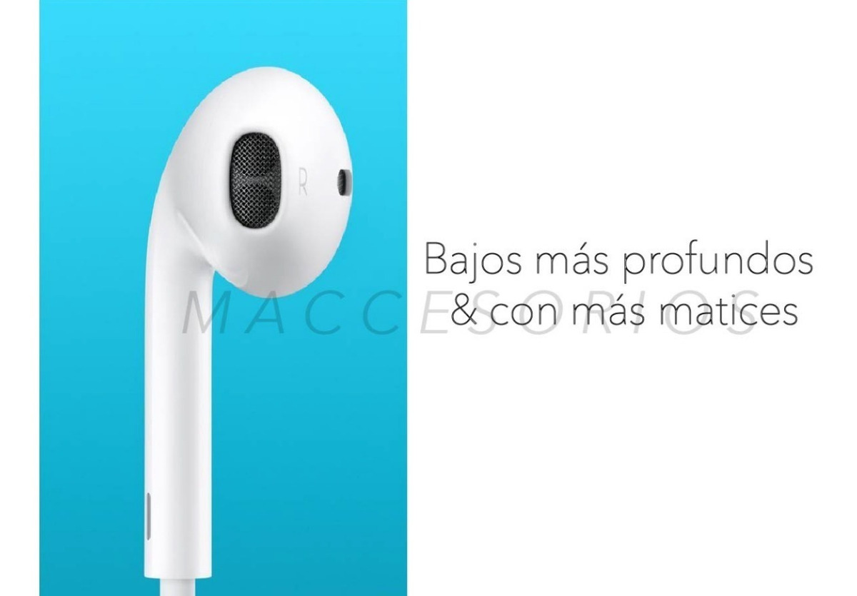 a7dd51ebce0 Auricular Original Apple Earpods Lightning - iPhone 6/7/8/x ...