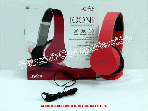 auricular overtech icon i