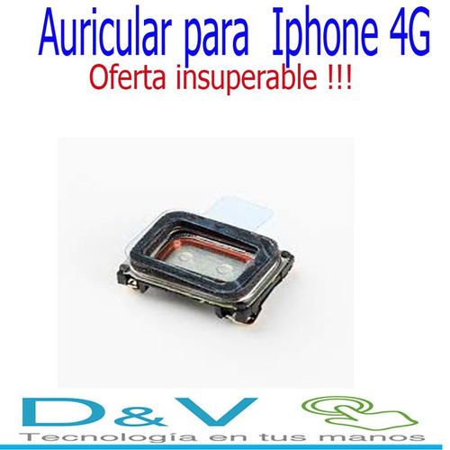 auricular para iphone 4g, oferta insuperable!!!