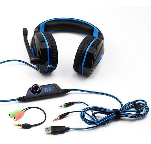 auricular para jugadores y youtubers kotion eack