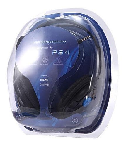 auricular para/ps4 gaming jack 3.5