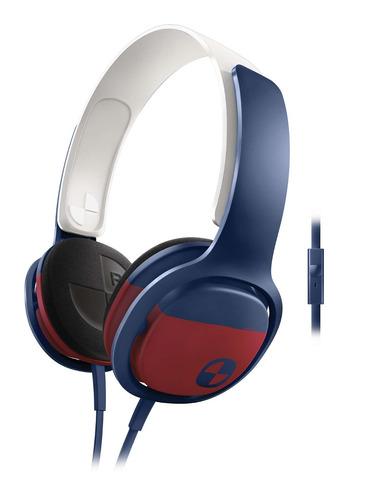 auricular philips sho3305 o'neill color microfono surf soft