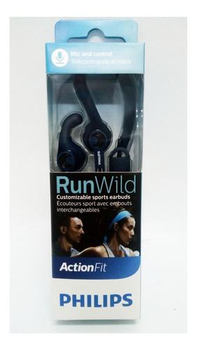 auricular philips shq1405 azul manos libres deportivos mic