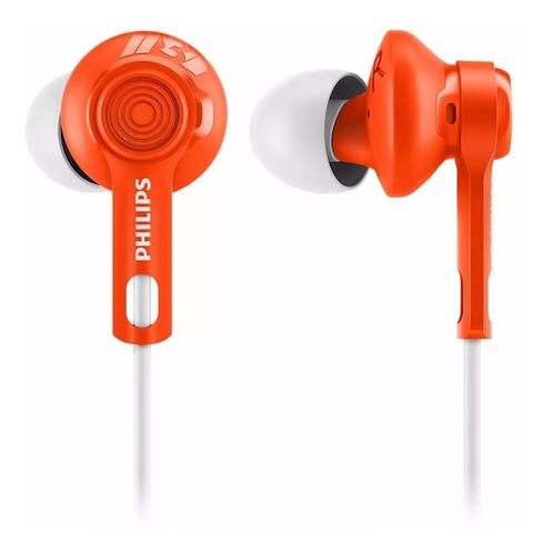 auricular philips shq2300-or in ear deportivos naranja