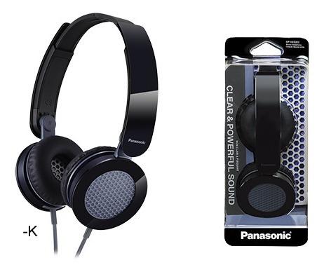 auricular plegable para dj panasonic rp-hxs200