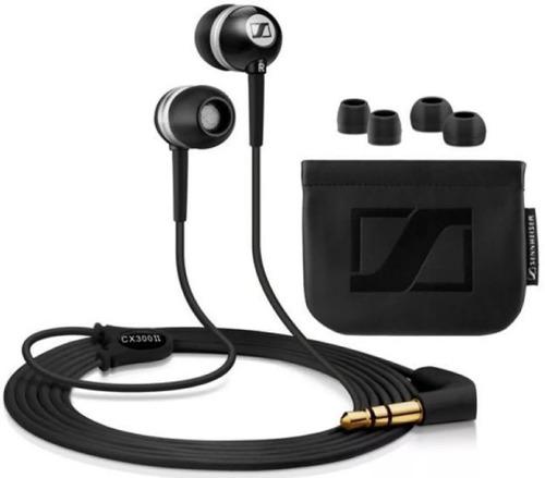 auricular sennheiser cx300ii in-ear alta gama extra bass
