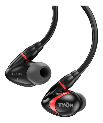 auricular sentey sports tyon ls-4205 negro-rojo fact a-b