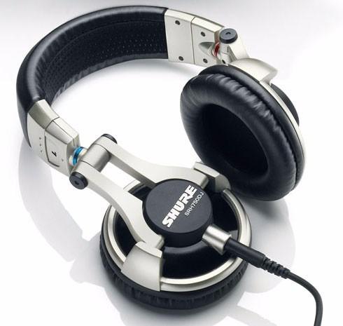 auricular shure srh750dj cerrado 5-30000hz 40 ohms