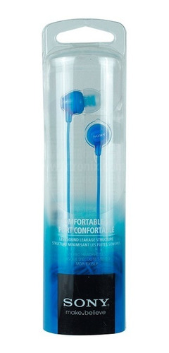 auricular sony mdr-ex15 azul