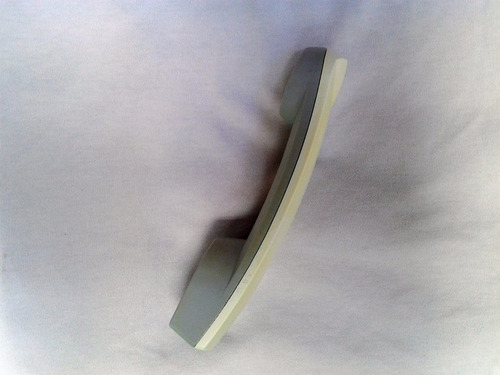 auricular teléfono fijo lg pequeño. blanco c/gris. si hay!
