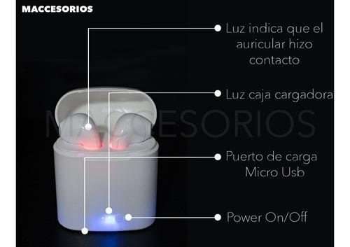 auricular tipo airpods inalambricos bluetooth sonido pro
