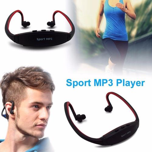 auricular vincha deportiva running mp3 para micro sd oferta