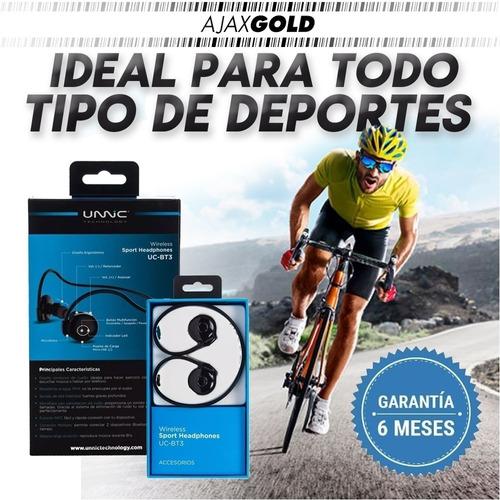 auricular vincha deportivo bluetooth running sport bicicleta musica alta fidelidad ipx4