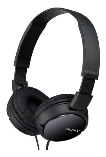 auricular vincha sony mdr zx110 super bass plegables negro