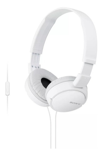 auriculares 3.5 mm sony plegables super bass mdr-zx110ap control y microfono