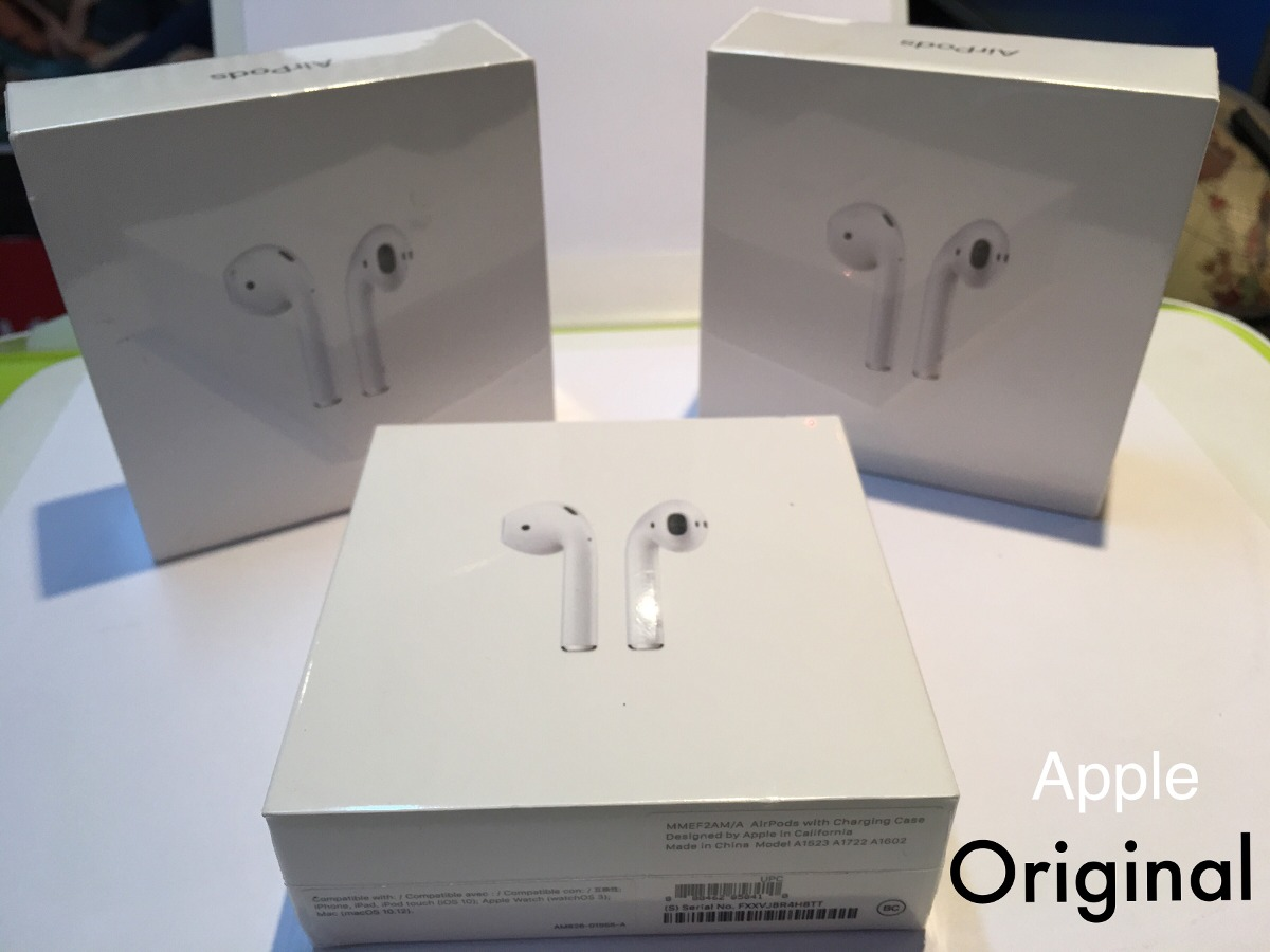 2e2deb67bc7 auriculares airpods bluetooth apple original caja sellada ! Cargando zoom.