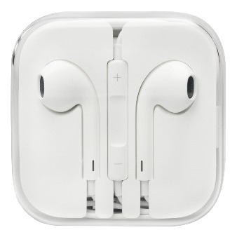 auriculares apple original color blanco - tecsys