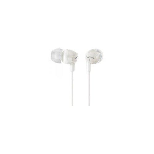 auriculares audífonos sony mdr ex15lp  para mp3 mp4-blanco