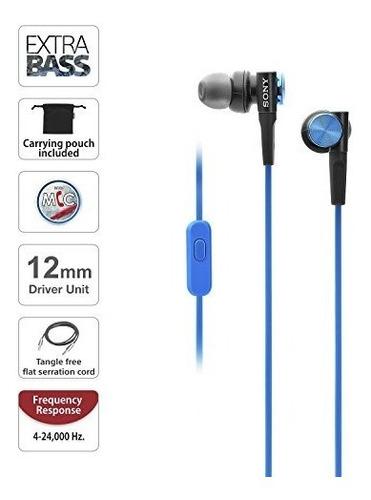 auriculares auricular bajo extra mdr-xb50ap / l sony
