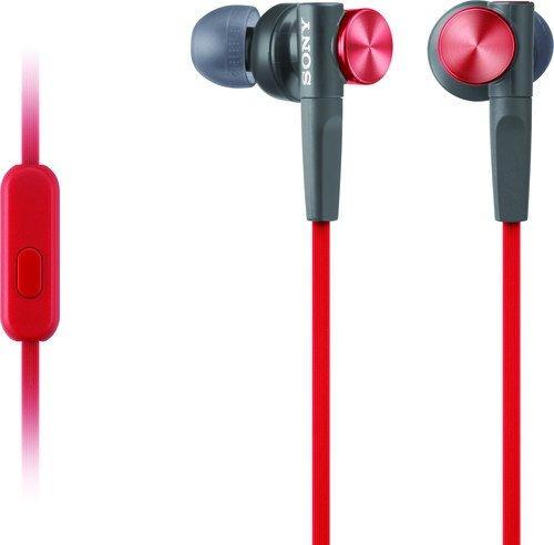 auriculares auricular bajo extra mdr-xb50ap / r sony