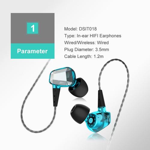 auriculares azul