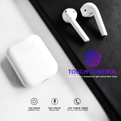 auriculares bluetooth 5.0 i12 tws touch android iphone