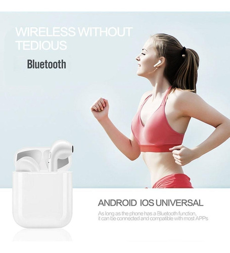 auriculares bluetooth 5.0  inalambricos +i7s android in ear