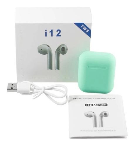 auriculares bluetooth control táctil i12 tws inal fact a o b
