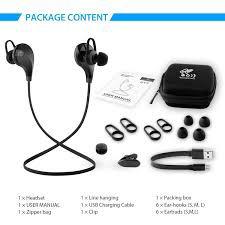 auriculares bluetooth deportivo qy7 soundpeats original 4.1