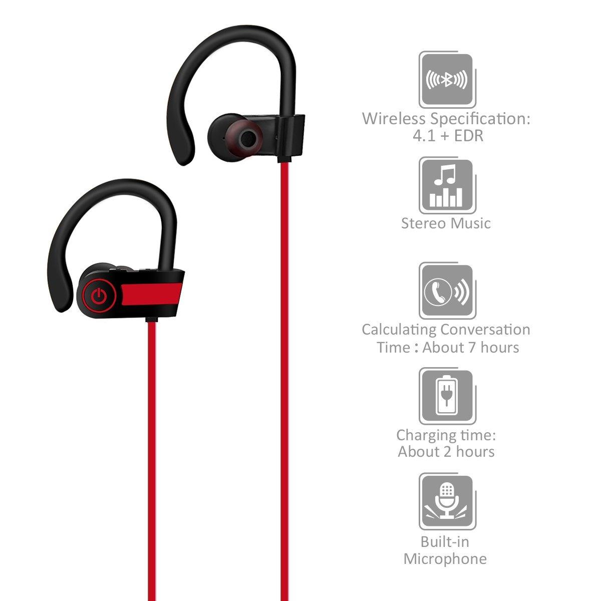 2d35cee5892 Auriculares Bluetooth , Elegiant Auriculares Bluetooth Para ...
