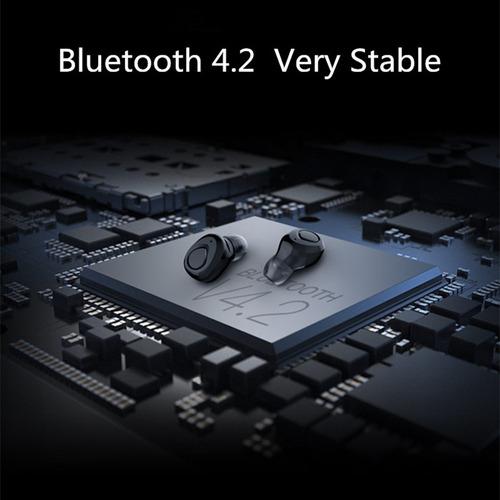 auriculares bluetooth in ear deporte running x-18 tws mic