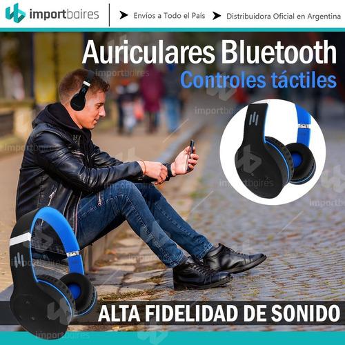 auriculares bluetooth inalambrico manos libres plegable gtia
